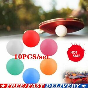 10PCS Pong Balls 40mm Colored Replacement Practice Tennis HOT Pong Table C6A1