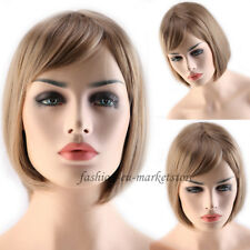 Free Shipping Womens Short BOB Straight Hair Wigs Cosplay Full Wigs Fancy Dress