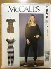 NEW McCall's 'Easy' Sewing Pattern R10416 Misses Romper & Jumpsuit