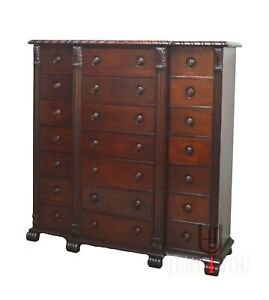 Ralph Lauren Mahohany Chest of Drawers Dresser