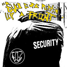 Badger Fake Cops Putting Up a Front Cd Private California Hardcore Punk Promo