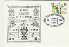Widnes v Leeds 7th May 1977 Challenge Cup Final Commemorative Cover Rugby League