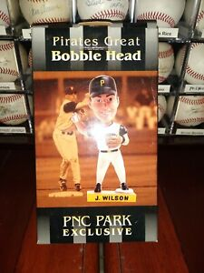 Jack Wilson Pittsburgh Pirates 2003 PNC Park Exclusive Bobblehead (New in Box)