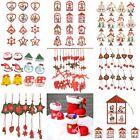 12x Christmas Santa Claus Ornaments Festival Party Xmas Tree Hanging Decoration