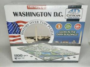 Washington DC 4D Cityscape Time Puzzle Brand NEW 1100+ Pieces City New Sealed