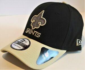New Orleans Saints NFL New Era Thanksgiving 39Thirty Flex Fit hat cap size M/L