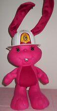 Vntg- Kenner -Grabbits - 1989 Fireman Gregory - Plush