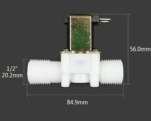 elettrovalvola solenoide AC 12V Regolatore Pressione normalmente chiusa