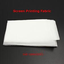 Screen Printing 160M(64T) Mesh Fabric White Mesh DIY Stretch Screen Fame 1 yard