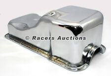 SBF Ford Front Sump Oil Pan Chrome 260 289 302 5.0 Windsor Small Block
