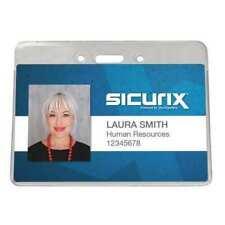 Sicurix Bau 47810 Id Badge Holderhorizontalpk50