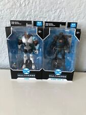 McFarlane Dc Multiverse lot of 2: Cyborg Teen Titans and Batman Earth -44