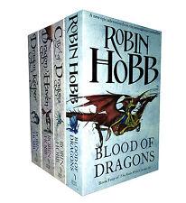Robin Hobb Trilogy 4 Books Set The Rain Wild Chronicles Collection