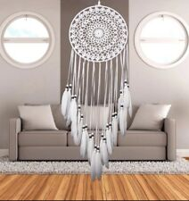 Large Size Dream Catcher Knitted Cotton Hand made Craft Room Wall Decoration