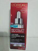 L'Oreal Paris 1.5% Hyaluronic Acid Serum Skin Revitalift Derm Intensives 1oz