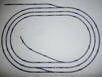 Hornby Job Lot of 00 Gauge Nickel Silver Track Layout Triple Oval with Sidings