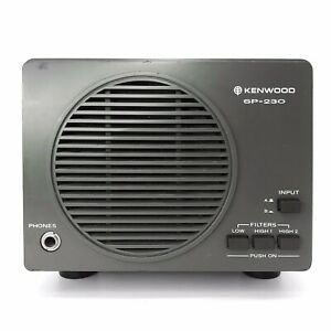 Kenwood SP-230 External Ham Amateur Radio Speaker w/ Filters For TS-830S TS-530S