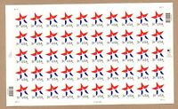 {BJ stamps} #3614  3 Cent Star, date in lower right.  MNH 3¢ sheet of 50.   2002