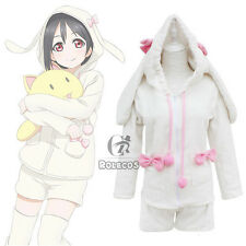 Love Live Nico Yazawa Rabbit Plush Homewear Pajamas Outfit Cosplay Costumes