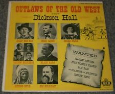 Dickson Hall Outlaws Of The Old West RARE MGM Country Billy The Kid Jesse James