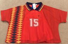$90 Adidas Spain Layer Tee Soccer Shirt CY0681 Women's Medium