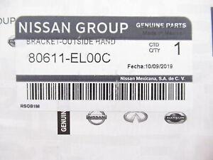 Genuine OEM Nissan 80611-EL00C Driver Front Door Handle Bracket 2007-2012 Versa