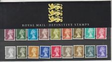 GB 1995  DEFINITIVE MACHIN  STAMPS PRESENTATION PACK No.34 1p-£1 MINT STAMP SET