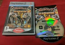 Ratchet Gladiator PS2 Playstation 2 Platinum Game Complete With Manual PAL