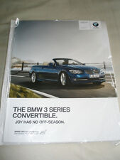 BMW 3 Series Convertible range brochure 2010 ed 2