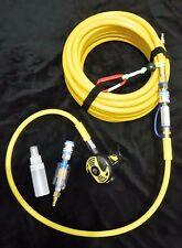 50' Universal Add-A-Diver Hookah kit w/ filters/ 2nd stage Cressi adj air flow.