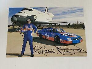 Richard Petty VINTAGE NASCAR STP 1987 SPACE SHUTTLE NASA signed #43 HERO photo