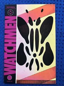 Watchmen #6   DC Comics 1987  1st printing  Alan Moore, Dave Gibbons