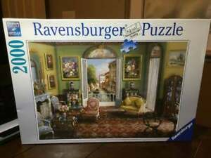 VHTF NEW Ravensburger ROOM WITH A VIEW John O'brien 2000 piece Jigsaw Puzzle