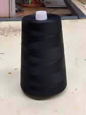 100% cotton thread 12,000 Yards - BLACK