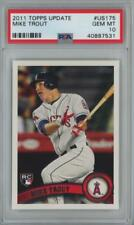 2011 Topps Update #US175 Mike Trout RC Gem Mint PSA 10