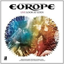 EUROPE - LIVE LOOK AT EDEN  CD + BUCH NEW+