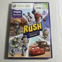 TESTED KINECT RUSH DISNEY PIXAR ADVENTURE MICROSOFT XBOX 360 Video Game F/S