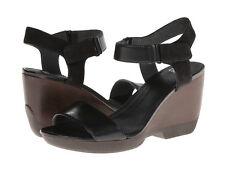 Camper Laura 21945 Ankle-Strap Black Sandals 41 11