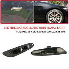 LED Side Marker Lights Turn Signal Light For BMW E84 E83 E60 E61 E90 E92 E88 E93