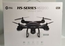 Holy Stone HS120D GPS drone 1080P HD camera FPV quadcopter 2 batteries backpack
