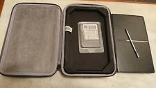 "Sony PRS-900 Daily Edition Reader 7"" 1.6GB - Case, new sealed Battery and pen."