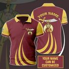 Shriners Strength and Fury Polo Shirt Comfortable Quality Fabric S-5XL