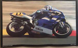 Juan Garriga  (E) Yamaha 500 Motorcycle 🏍 Racing EXTREMELY RARE Cycle Poster