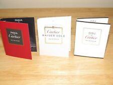 3 Cartier Baiser Vole Eau de Pasha Edition Noire Parfum Womens Spray Fragrance