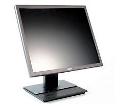 """Acer B196L 19"""" LCD Monitor - PIVOT - DVI / VGA - Lautsprecher - Schwarz"""