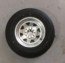 "New 13"" Rim Tyre 165R13LT Multifit Galvanis Caravan Boat Wheel Trailer"