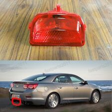 Red Rear Center Fog Light Lamp For Chevrolet Malibu 2013-2015