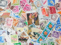 STAMP JAPAN Commemorative 1000pc lot off paper philatelic collection 70%com