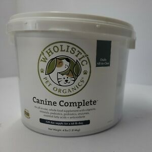 Wholistic Pet Organics Canine Complete Dog Multivitamin for Total Body Health...