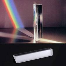 K9 Crystal Optical Glass Triangular Prism for Teaching Light Spectrum Physics